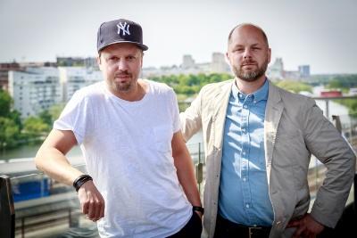 Fredrik Svensson och Jens Schill